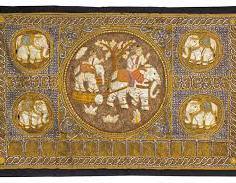 tapestry of elefants